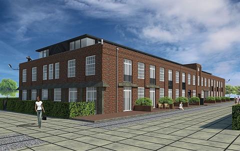 Project De Lakfabriek in Oisterwijk.