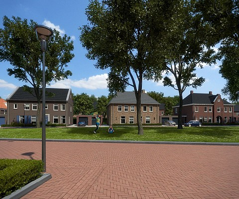 Project Nuenen West in Nuenen