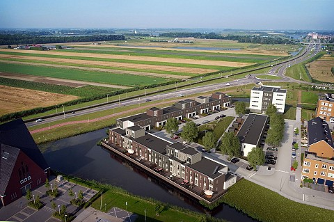 Project Rijtuigwei in Barendrecht