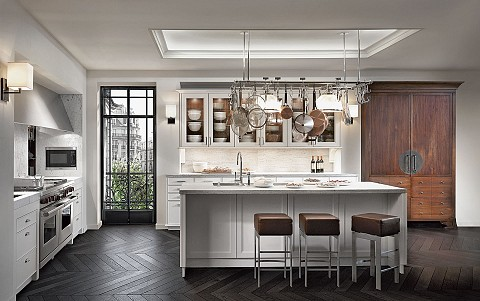 SieMatic_CLASSIC_bruintinten wit hout brons