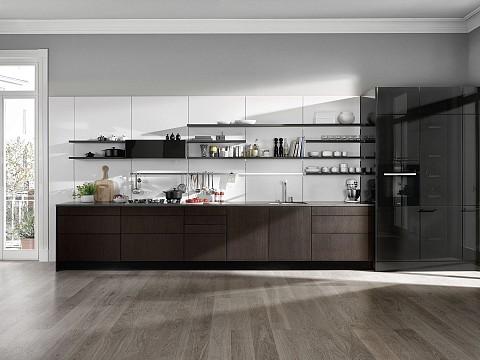 SieMatic Pure houten keuken met hoogglans kasten, ASWA Keukens