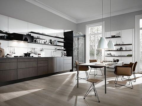 SieMatic Pure houten greeploze keuken met floatingspaces, ASWA Keukens