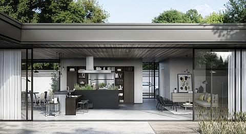 SieMatic Urban hoekkeuken met kruidentuin, ASWA Keukens