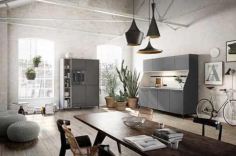SieMatic Urban keuken met losstaande kasten, ASWA Keukens