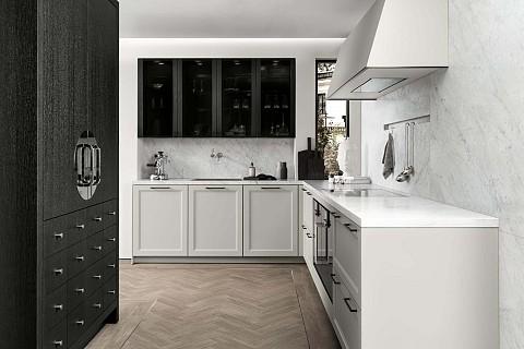 SieMatic Classic Wit hoekkeuken met kaderfront, ASWA Keukens