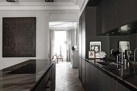 SieMatic Classic - SieMatic keuken zwart met kookeiland, ASWA Keukens