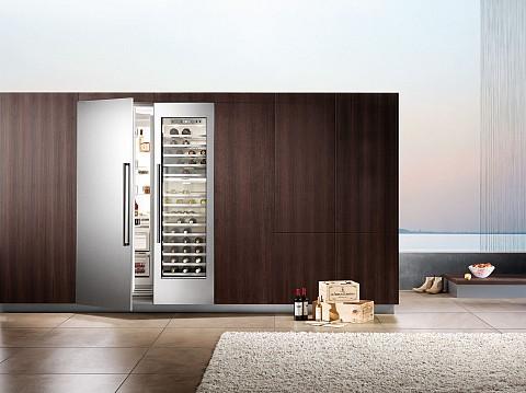Siemens koelkast met wijnklimaatkast
