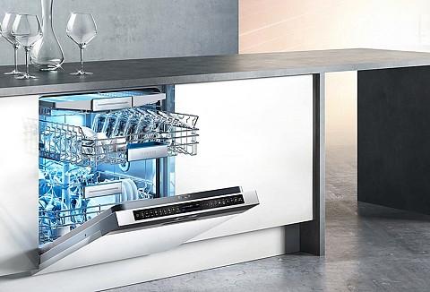 Vaatwasser Siemens met Zeolith. ASWA Keukens
