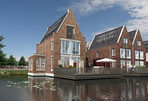 Project De Stadhouders in Vleuterweide Utrecht