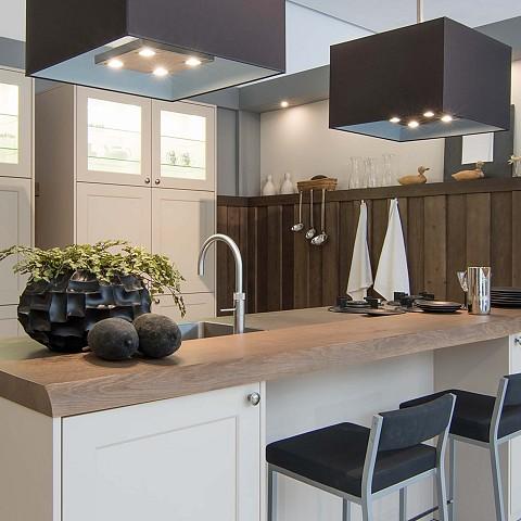 Showroomkeuken SilverLine Signia moderne landelijke keuken