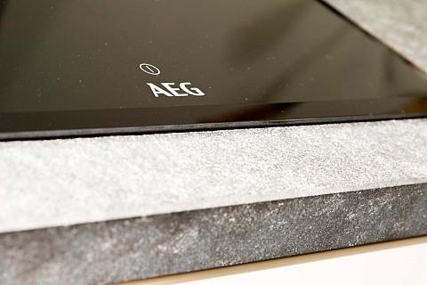 Showroomkeuken Silverline 128 LK grijs wit kookeiland