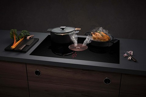 BORA Pure kookplaat met afzuiging rosegold, Keukenapparatuur ASWA Keukens