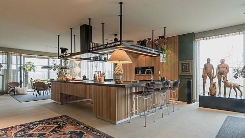Maatwerk houten keuken ASWA Atelier