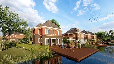Project Natuurlijk Wonen in 's-Gravenzande - Luxe villa De Waterspiegel, ASWA Keukens