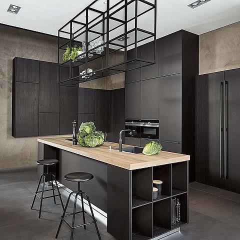 keuken collectie, SilverLine design keuken met kookeiland, ASWA Keukens
