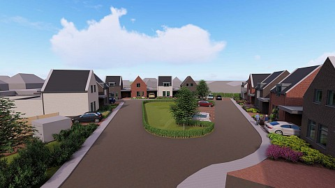 Project Binnenhof Someren-dorp, keukenontwerp ASWA Keukens