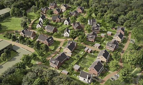 Project 'T Park in Hilversum, keukens op maat door ASWA Keukens