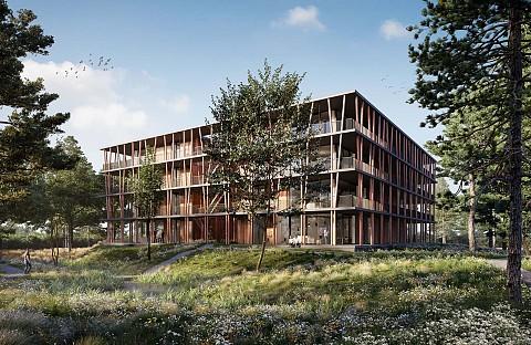 Project Bosbad Bosrijk Meerhoven in Eindhoven, ASWA Keukens