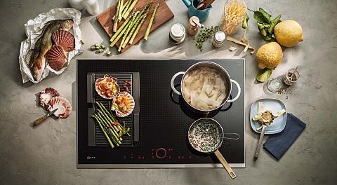 NEFF Inductie kookplaat met grillplaat, Keukenapparatuur ASWA Keukens