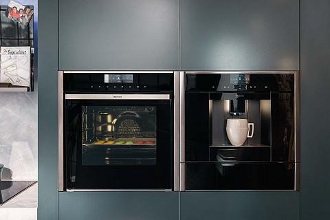 NEFF inbouw koffieapparaat met grote oven en warmhoudlade, Keukenapparatuur ASWA Keukens