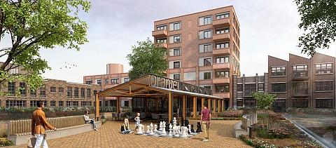 Oranjekade Helmond, nieuwbouw woningen ASWA Keukens
