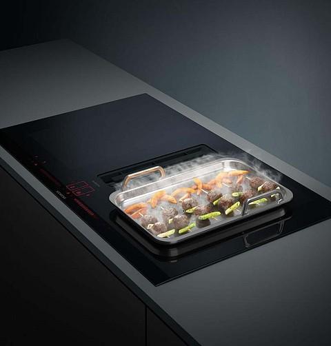 Siemens kookplaat met afzuiging, Keukenapparatuur ASWA Keukens