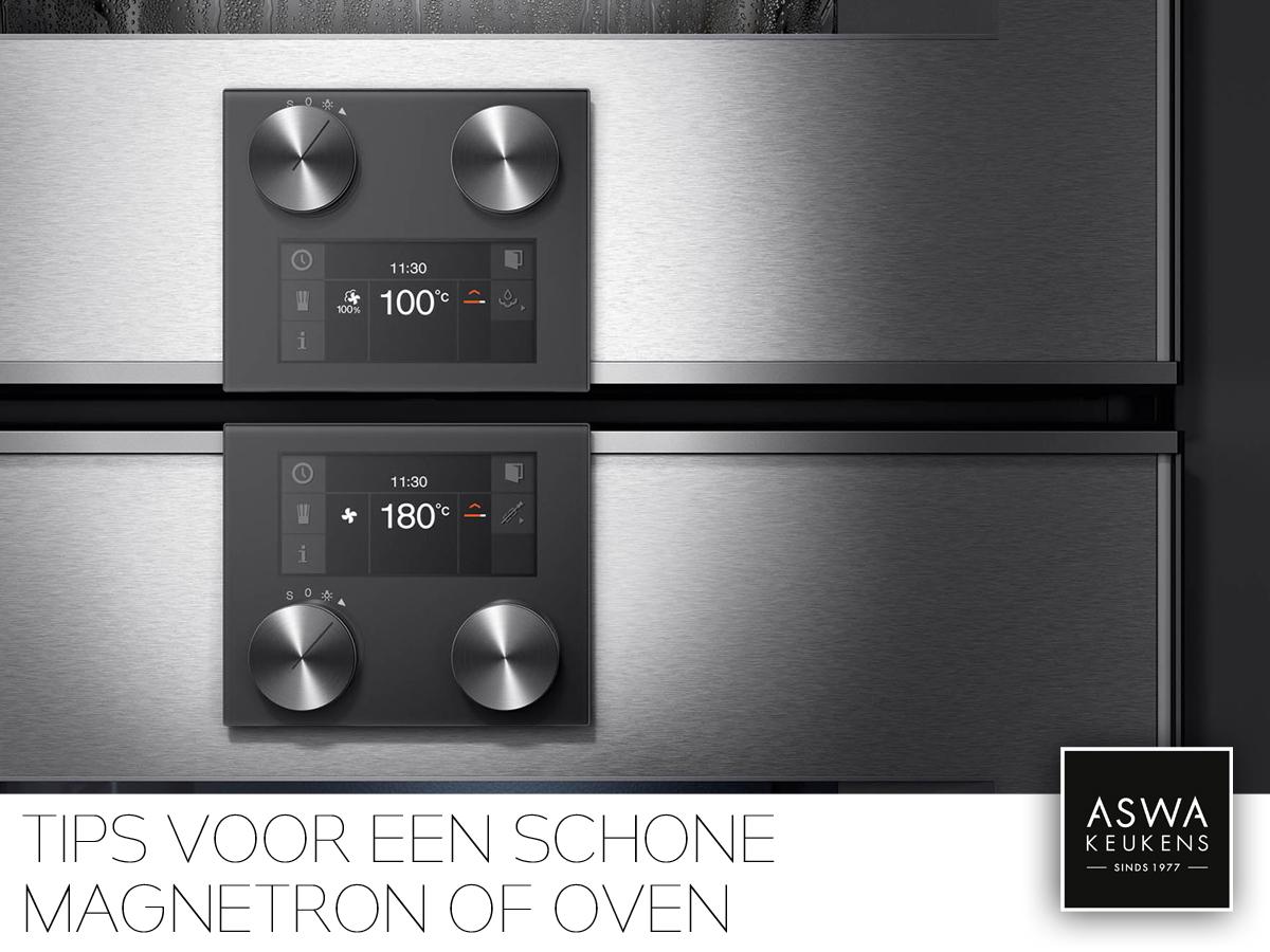 Tips&Trucs_Schoonmaken_schone oven of magnetron