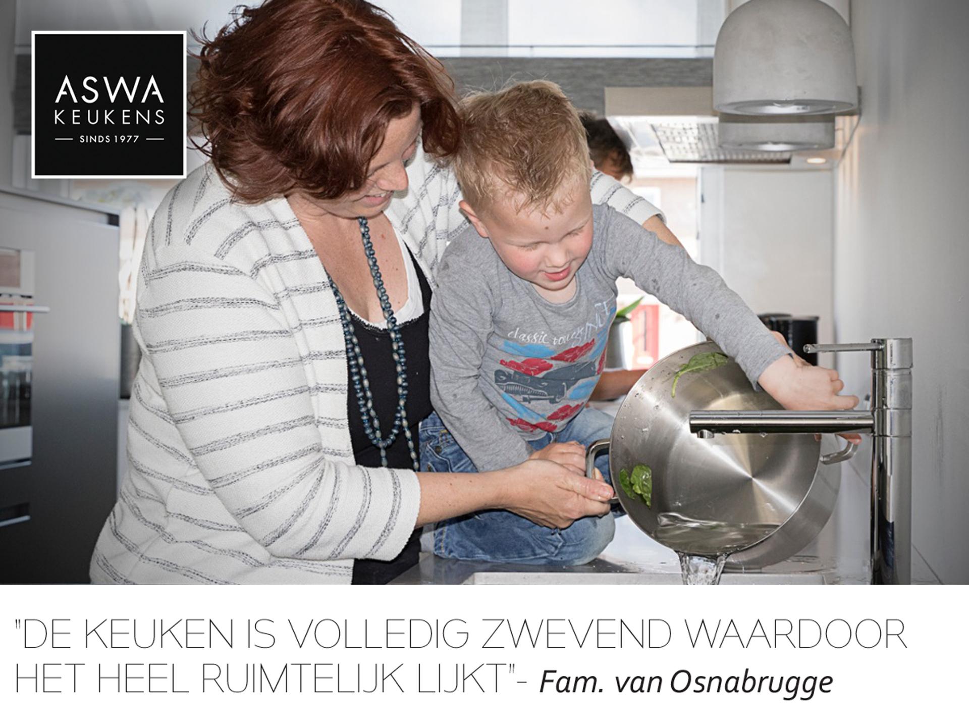 Klantervaring ASWA Keukens van Osnabrugge