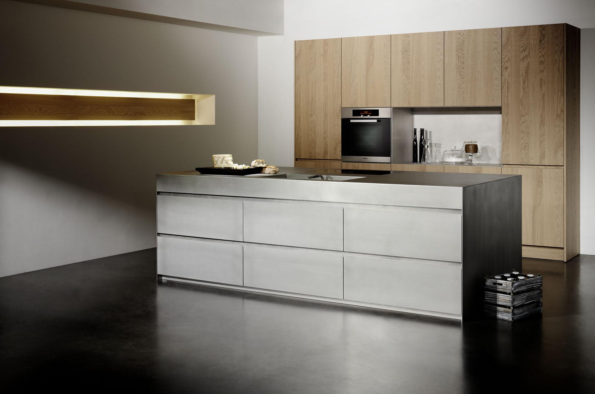Eigentijdse keuken grijs: design keukens aswa keukens. witte keuken