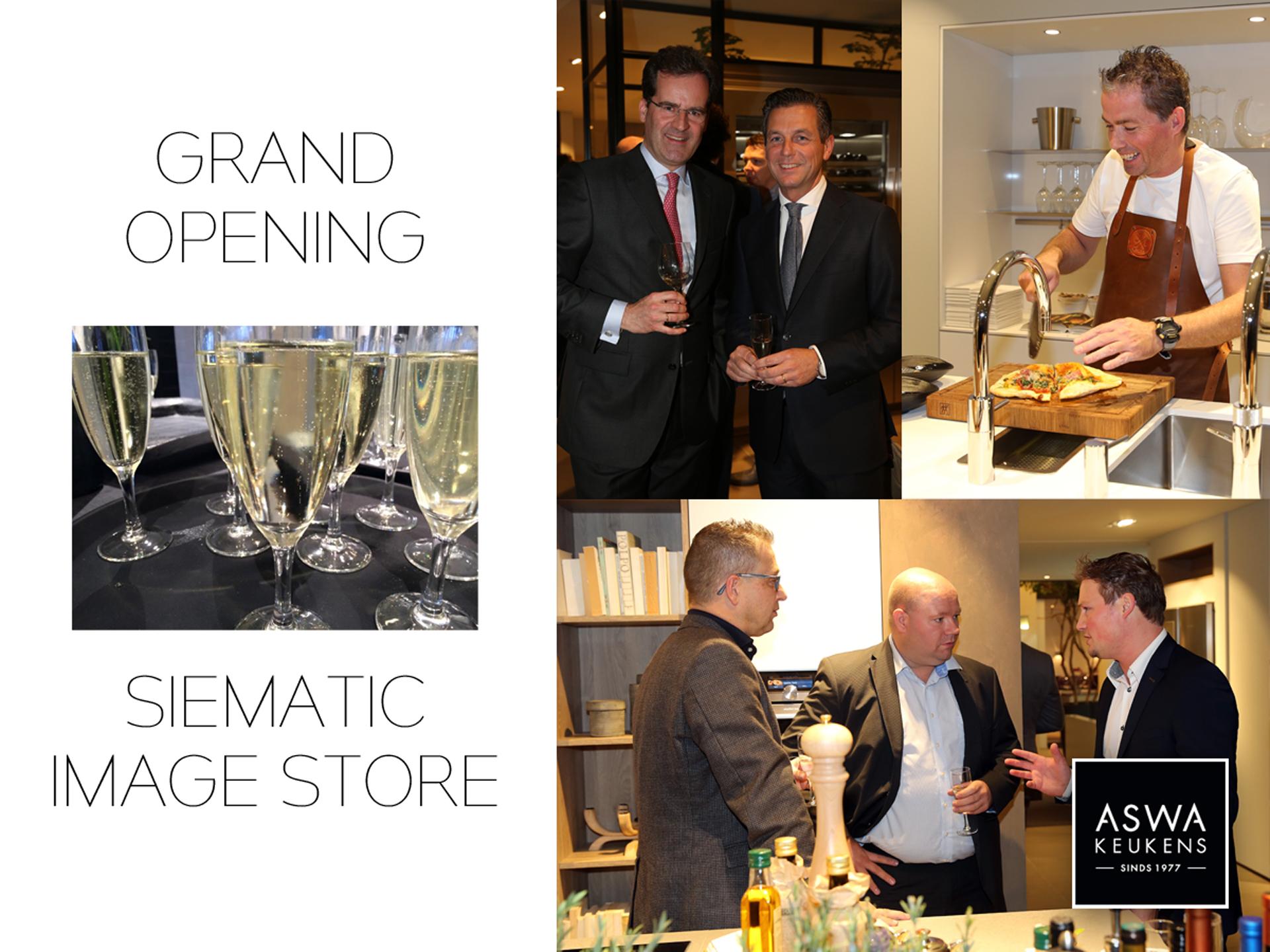 Nieuws ASWA Opening Helmond SieMatic Image Store