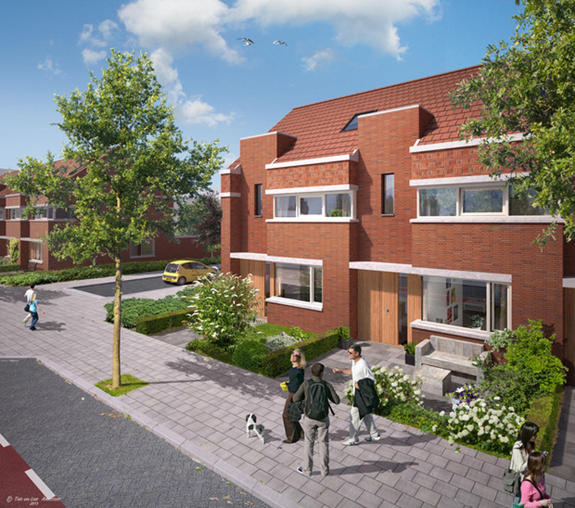 Project Graaf Aelbrechtlaan in Amsterdam