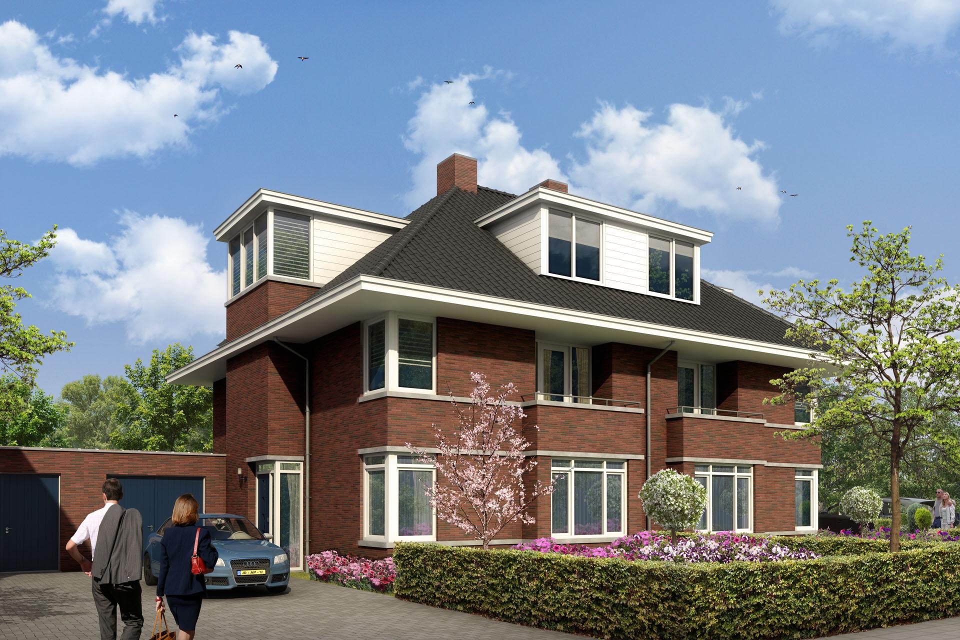 Project Laapersveld in Hilversum