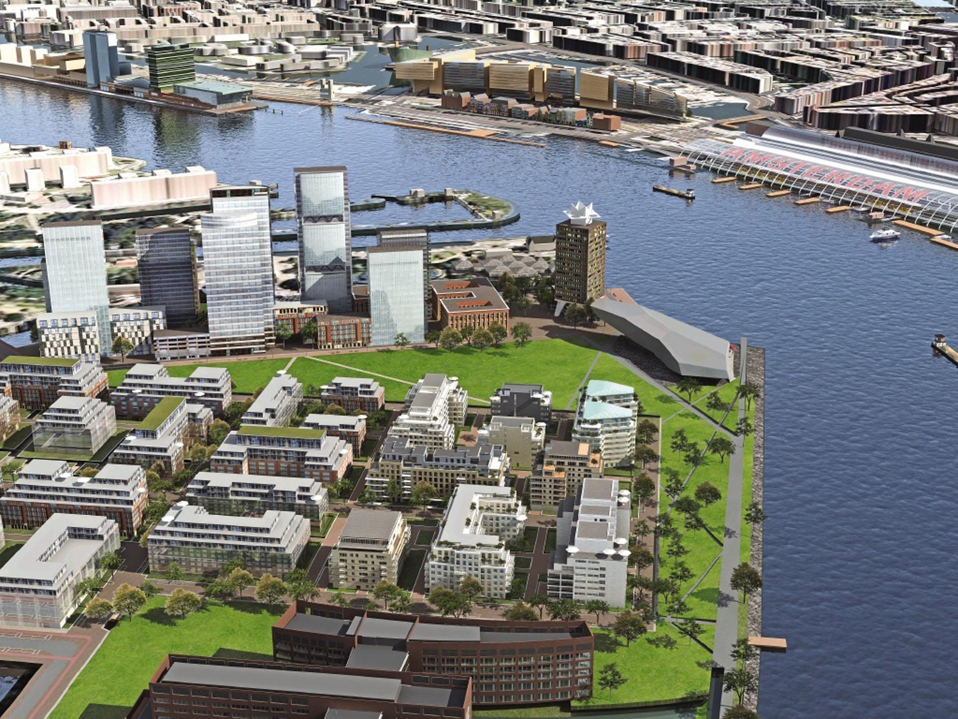 Project Overhoeks in Amsterdam