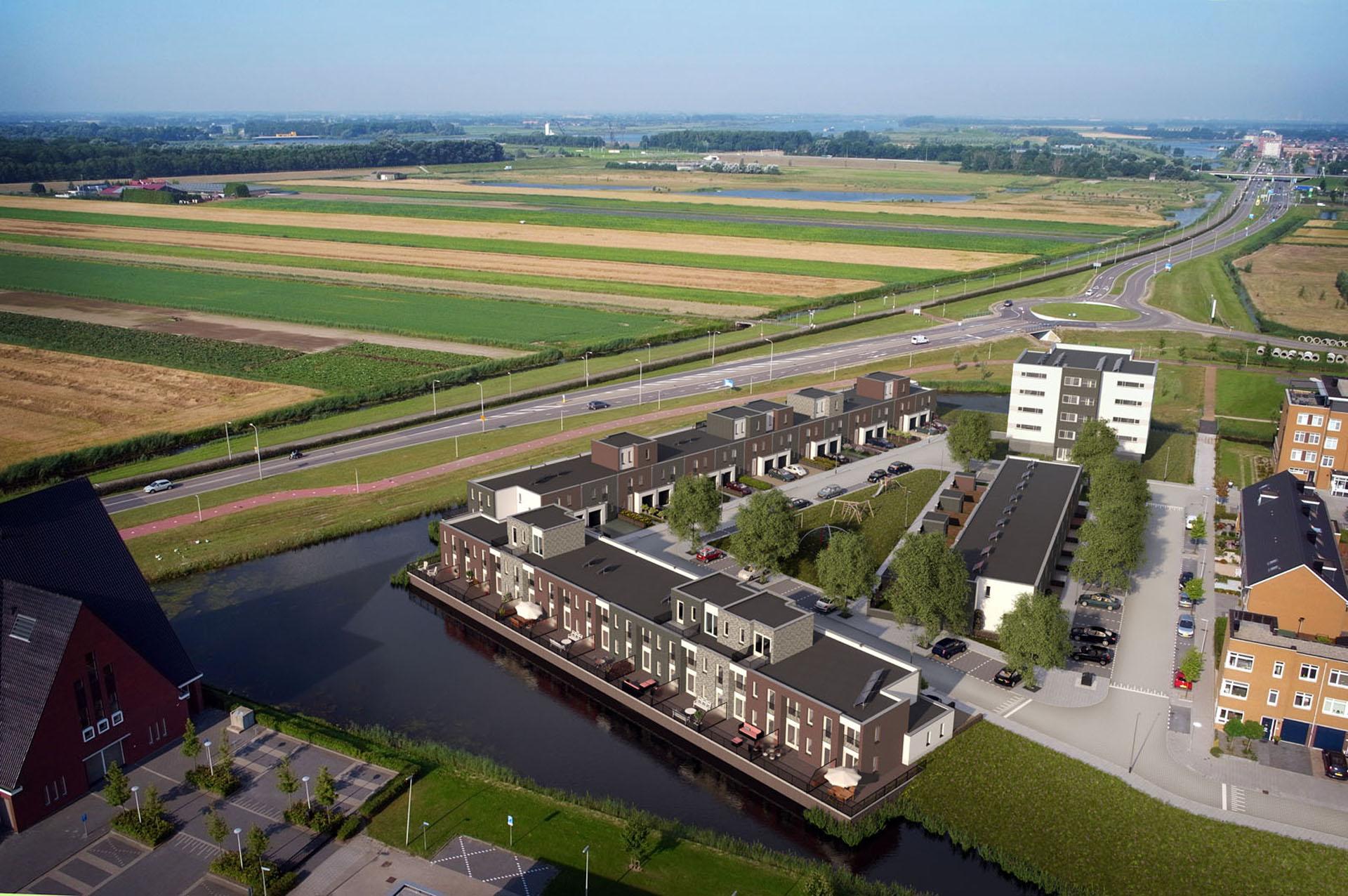Project Rijtuigwei in Barendrecht