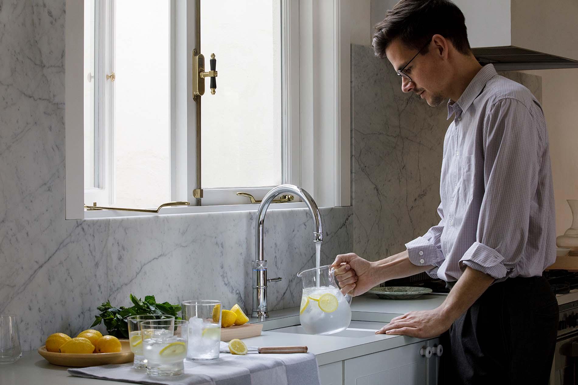 Quooker Kraan Cube met bruisend en kokend water, Keukenapparatuur ASWA Keukens