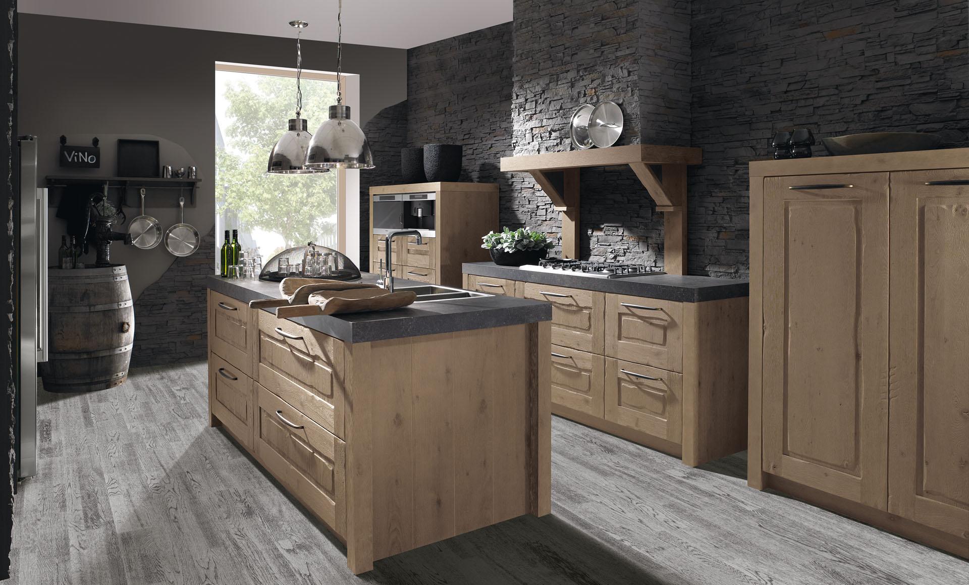 Van Wanrooij Keukens : Industriële keukens nieuwe keuken kopen aswa keukens