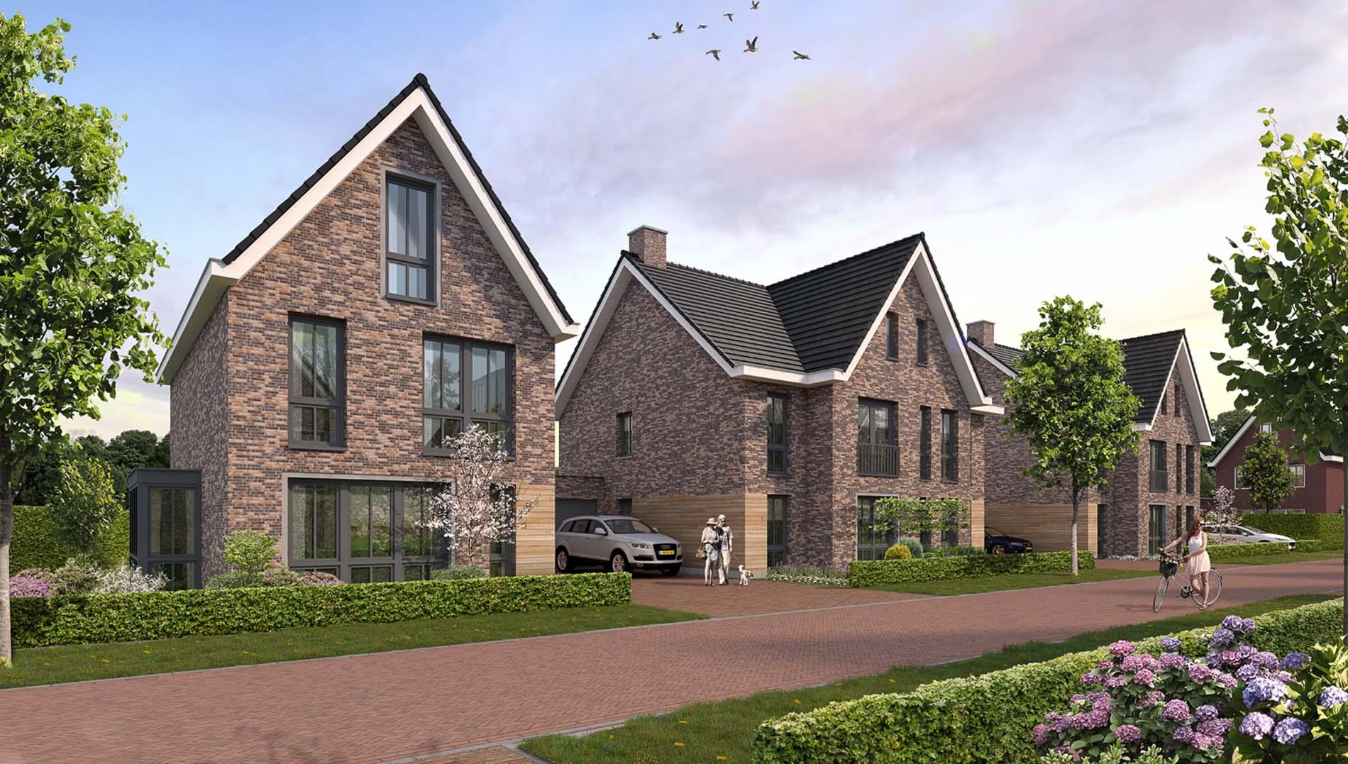 Project Lage Heide in Valkenswaard. Keukens van het merk SieMatic.