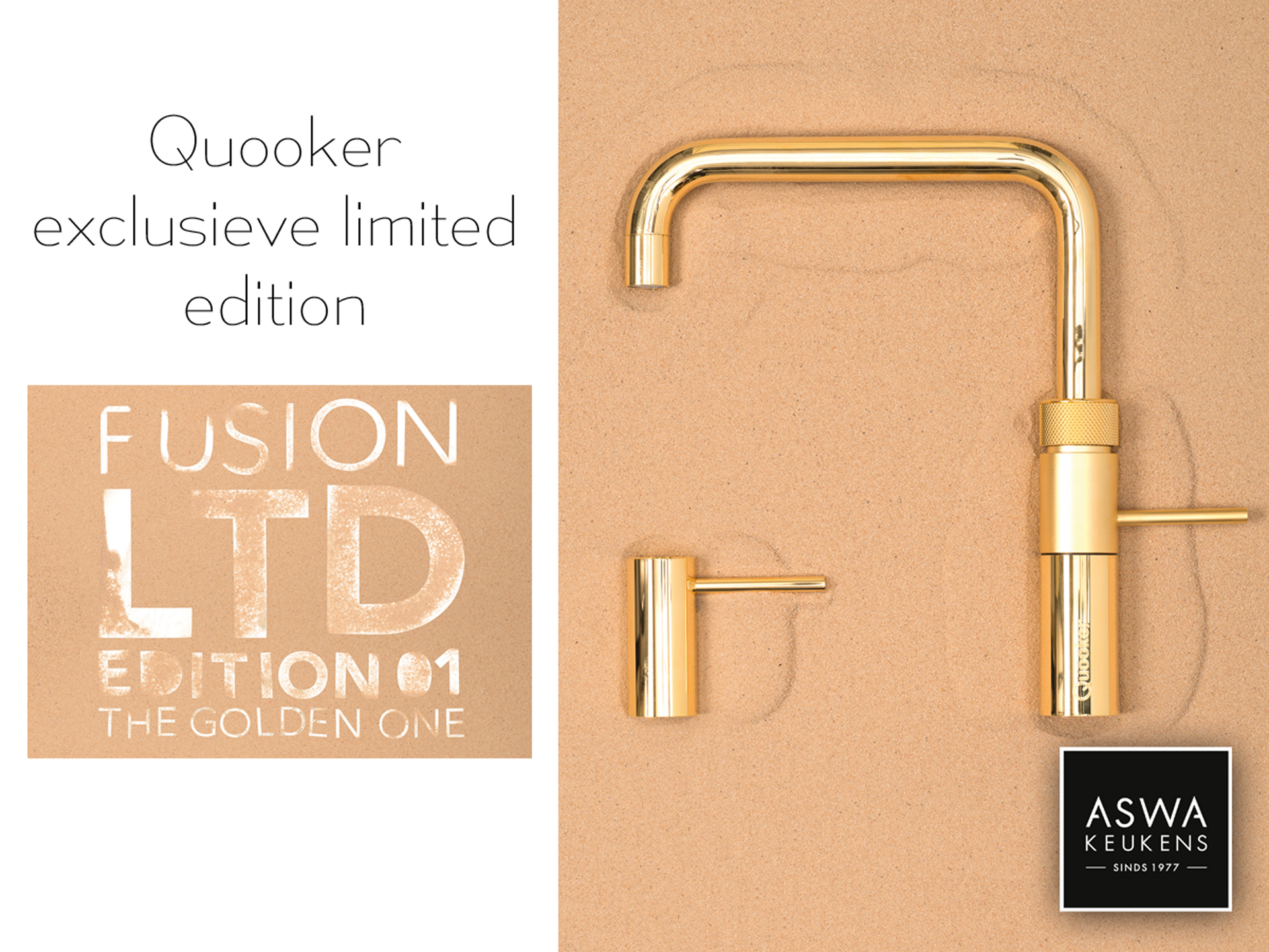 Nieuws Quooker Golden edition