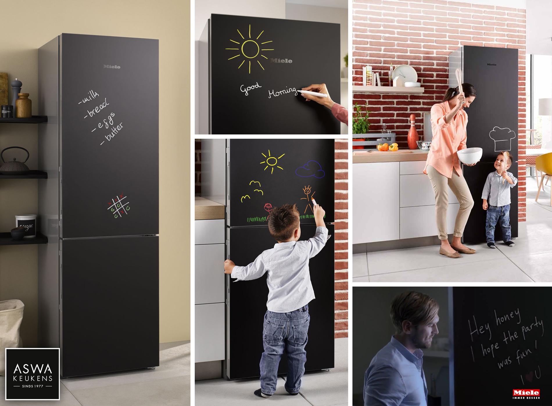 Nieuws_Miele Blackboard koelkast