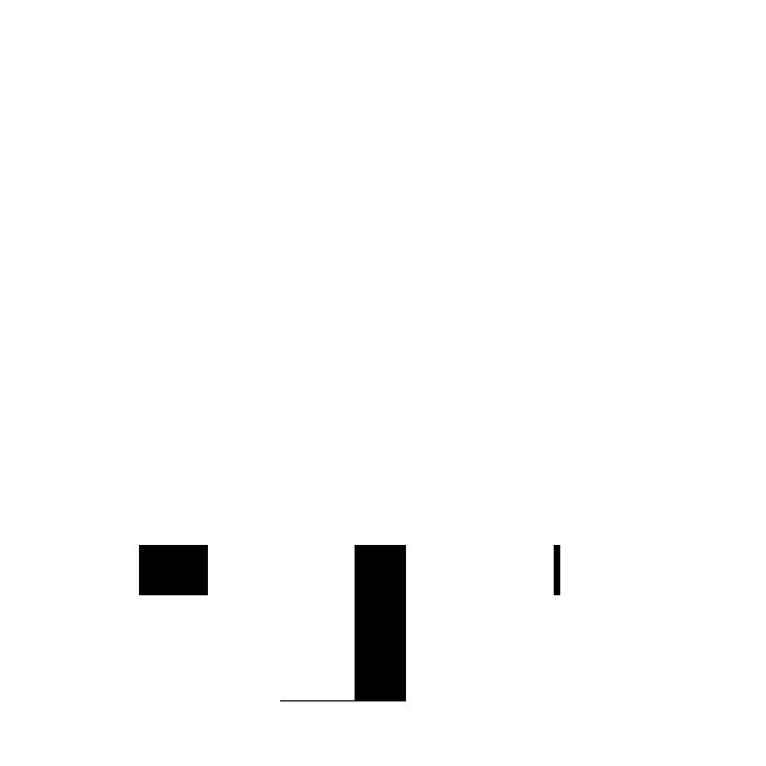 Hoge klantentevredenheid wit icoon