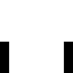 Huismerken wit icoon