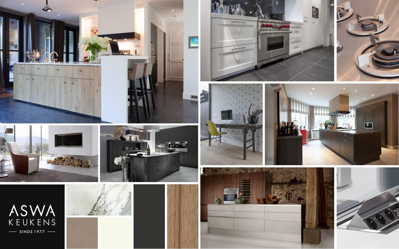 Aswa keukens referenties op huis ontwerp interieur decoratie en