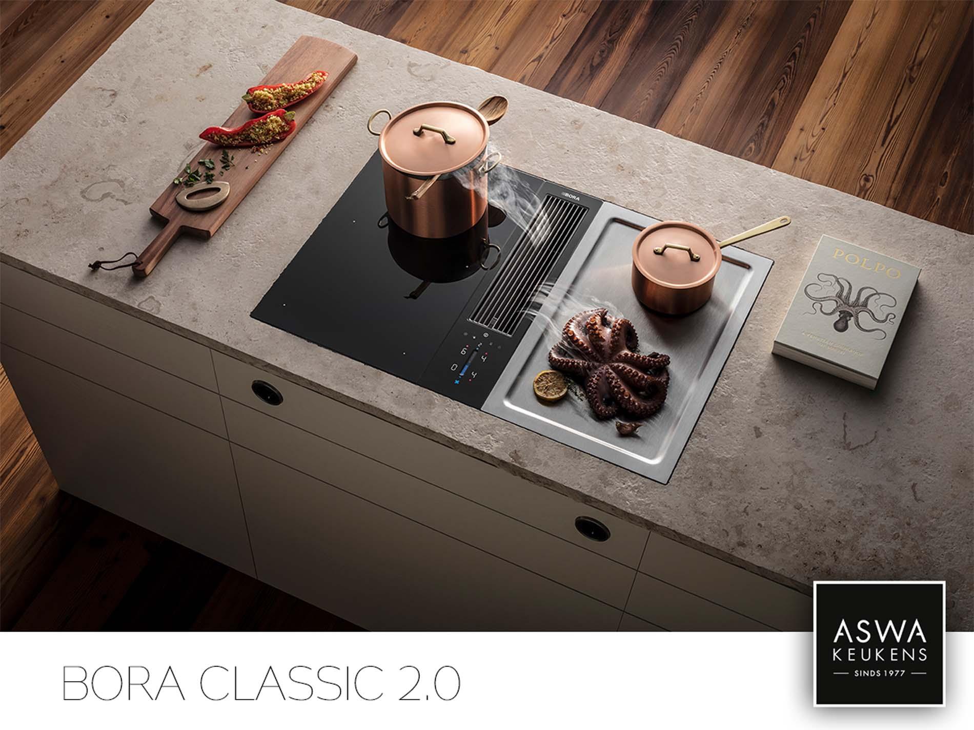 BORA Classic 2.0, BORA Kookplaat met afzuiging, ASWA Keukens