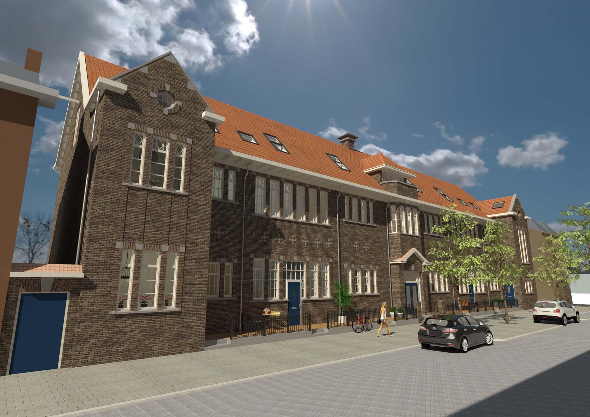 Project De Maximiliaan in Rotterdam.