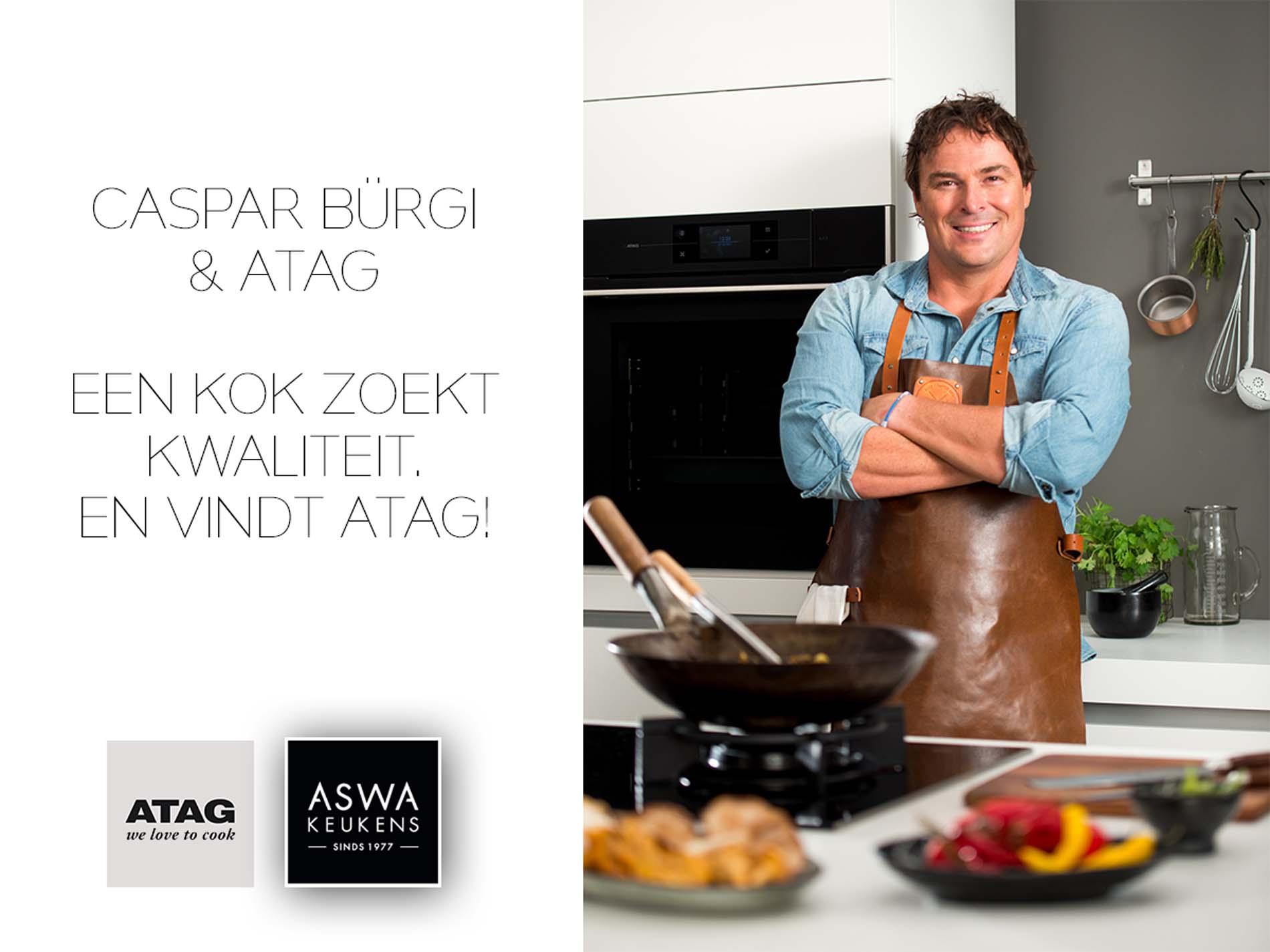 Samenwerking ATAG en Caspar Bürgi