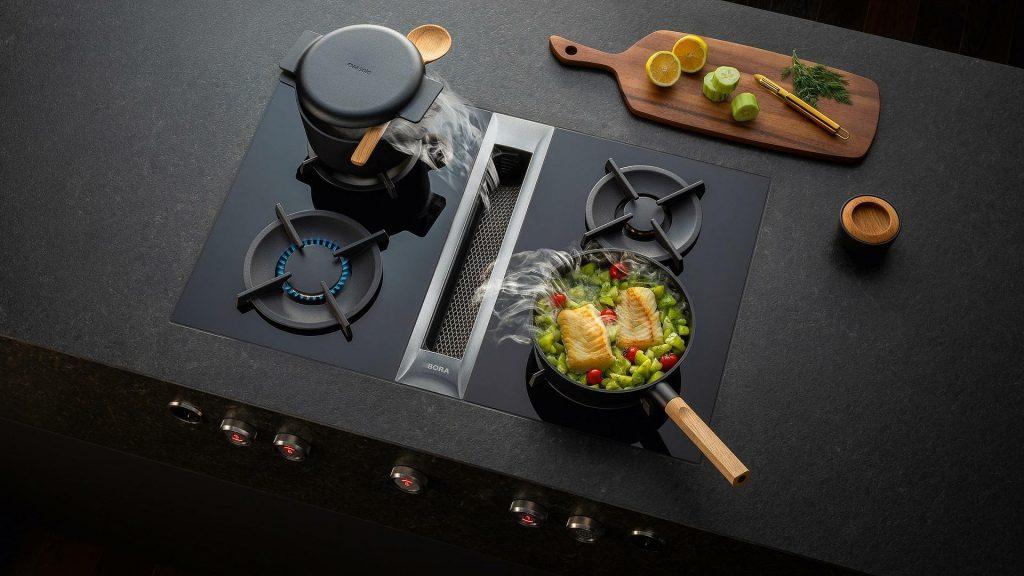 BORA Professional 2.0 gaskookplaat met afzuiging, Keukenapparatuur ASWA Keukens