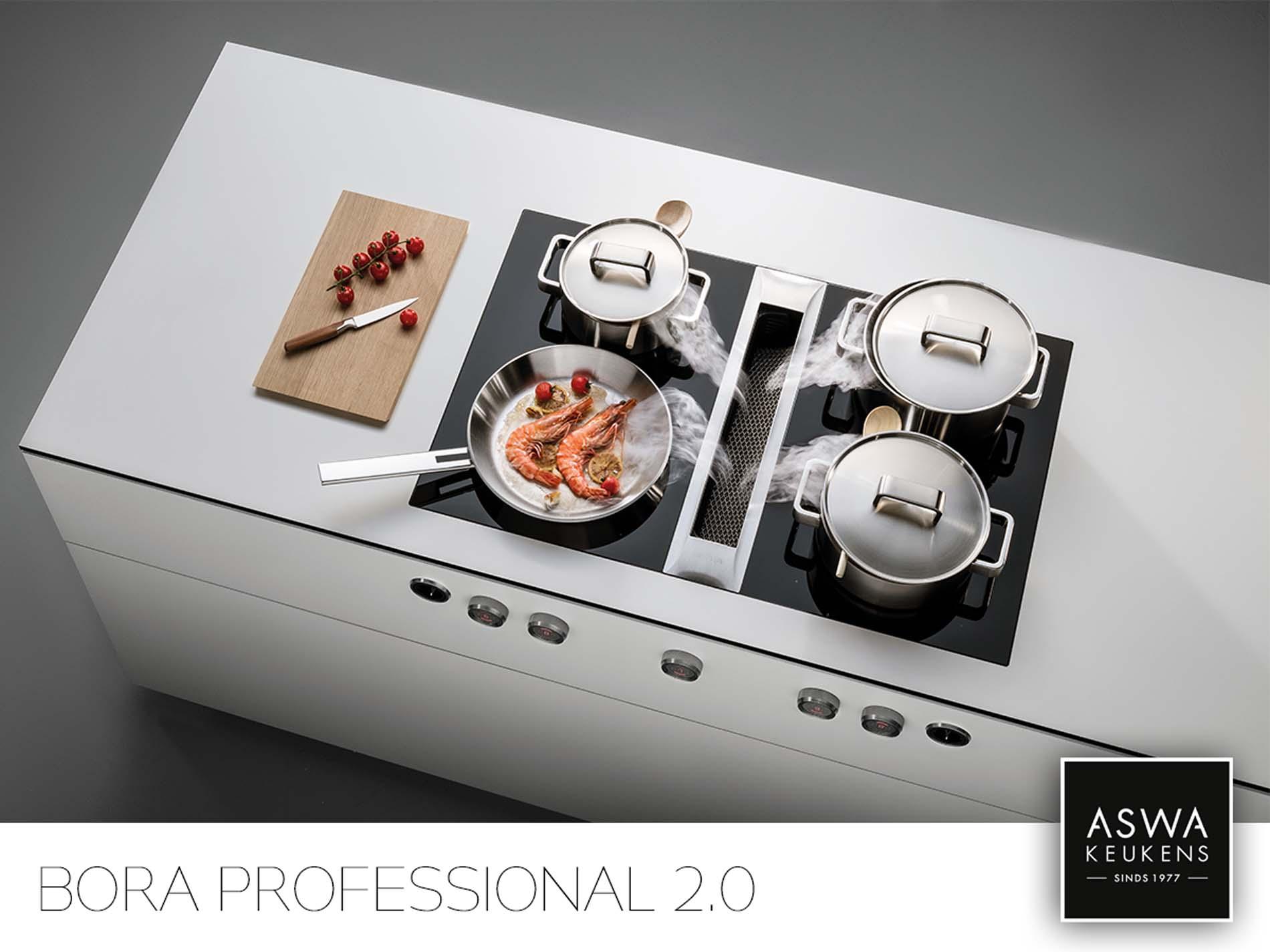 BORA Professional 2.0, BORA Kookplaat met afzuiging, ASWA Keukens