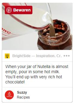 Pinterest nutella