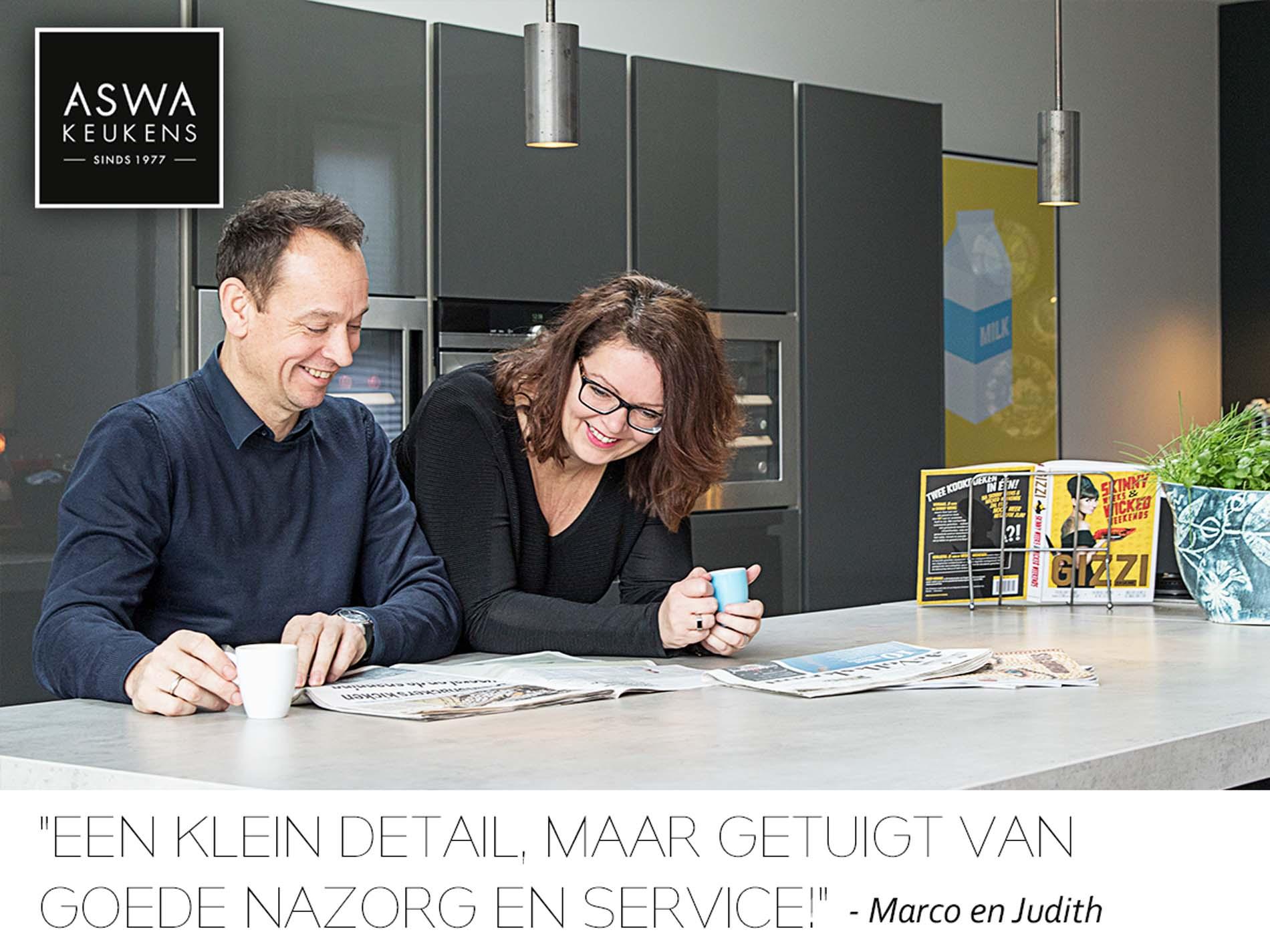 Kijkje in de keuken bij Marco en Judith uit Eindhoven