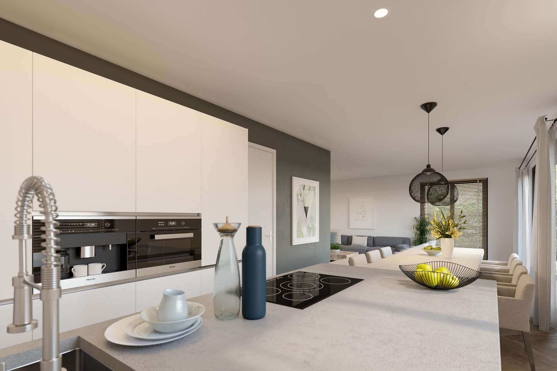 Project Mooi Wonen in Berkel-Enschot met SieMatic keukens